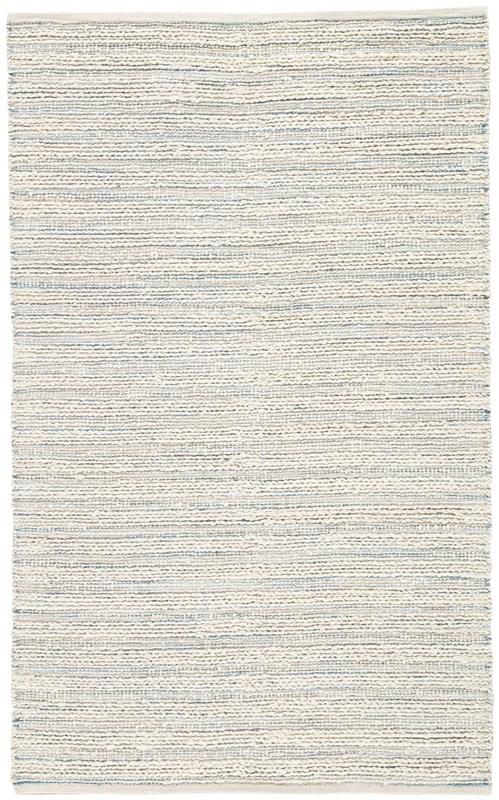 Jaipur Living Canterbury Natural Stripe White/ Blue Area Rug