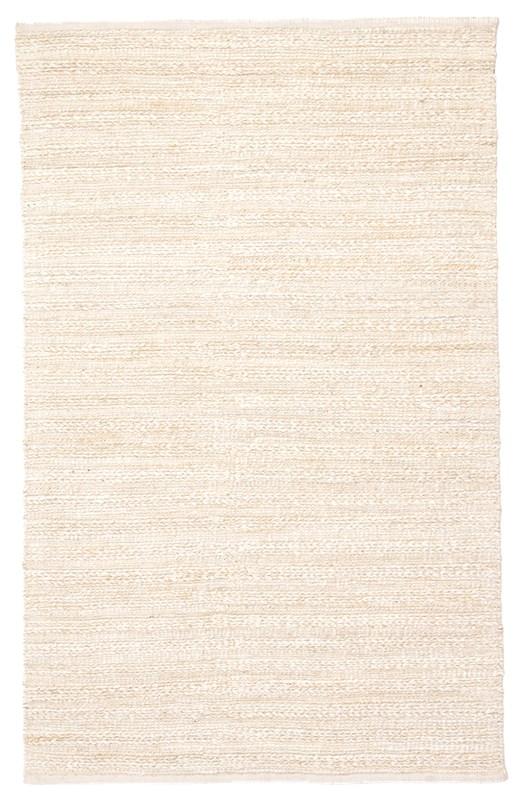 Jaipur Living Canterbury Handmade Solid White/ Beige Area Rug