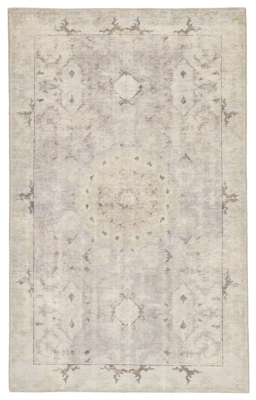 Jaipur Living Modify Hand-Knotted Medallion Gray/ Blue Area Rug
