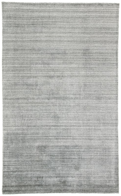 Jaipur Living Oplyse Handmade Solid Gray/ Black Area Rug