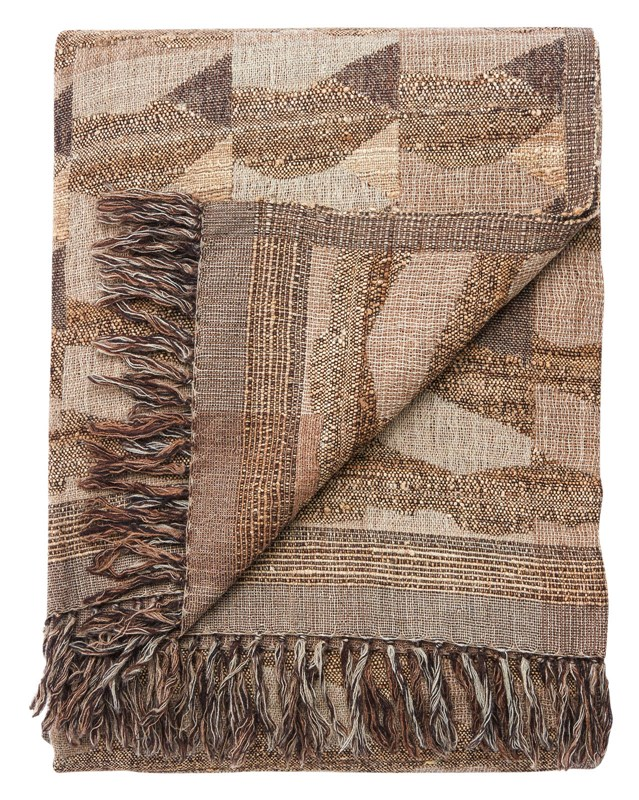 Jaipur Living Anders Taupe/ Gray Abstract Throw