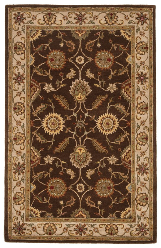 Jaipur Living Maia Handmade Floral Brown/ Gold Area Rug