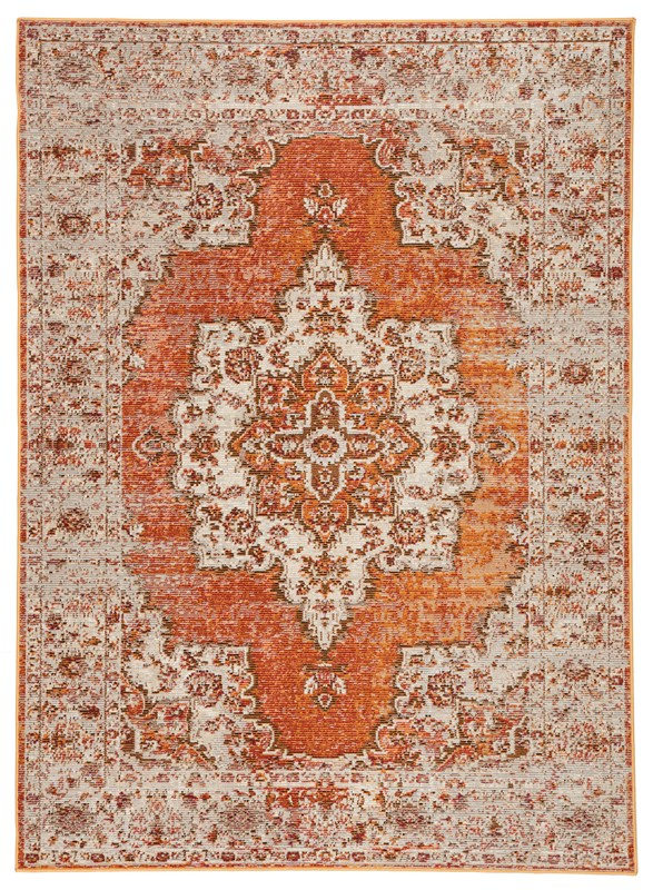 Jaipur Living Sontag Medallion Orange/ Brown Area Rug