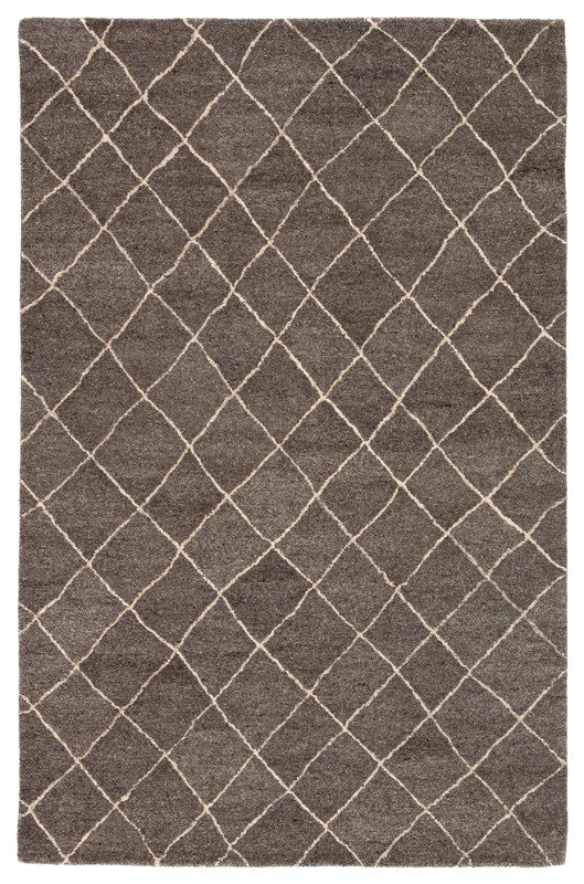 Jaipur Living Gem Handmade Geometric Gray Area Rug