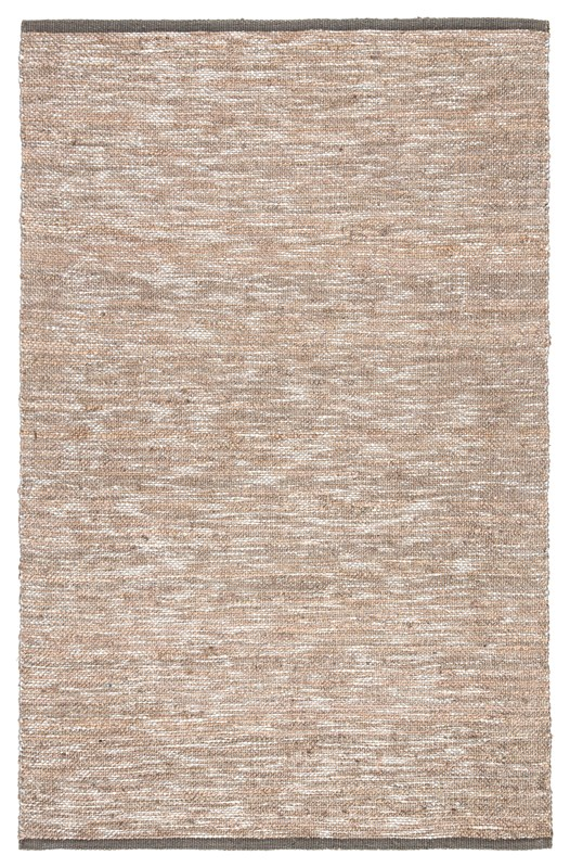Nikki Chu By Jaipur Living Vega Natural Solid Gray/ Silver Area Rug