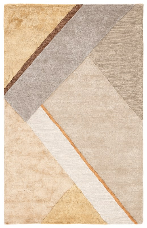 Jaipur Living Iso Handmade Geometric Yellow/ Gray Area Rug