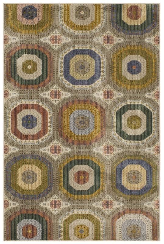Karastan Mosaic Khan Multi
