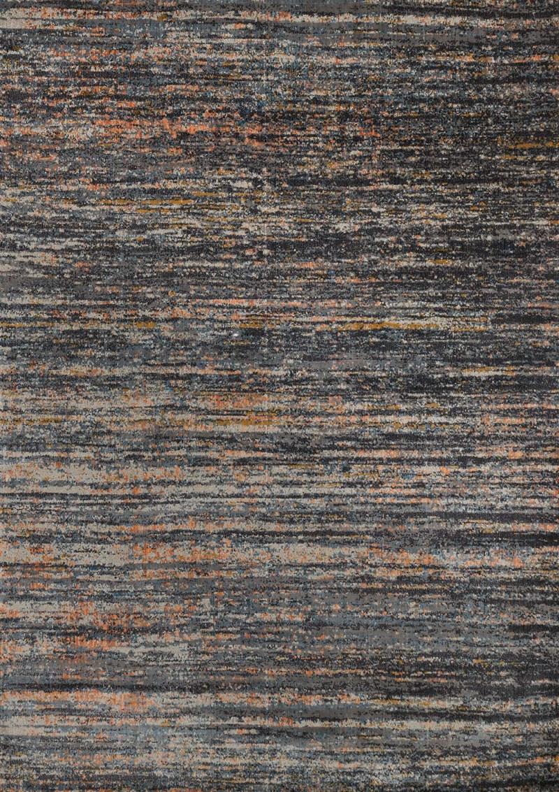 Loloi Dreamscape Dm-12 Slate / Orange Rug