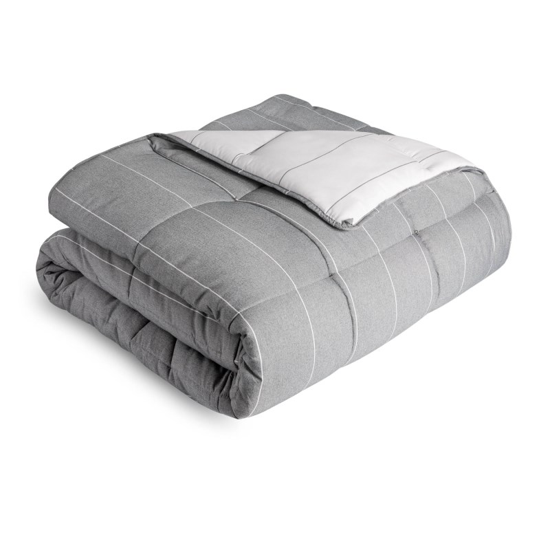 Chambray Comforter Set Cal King Flint