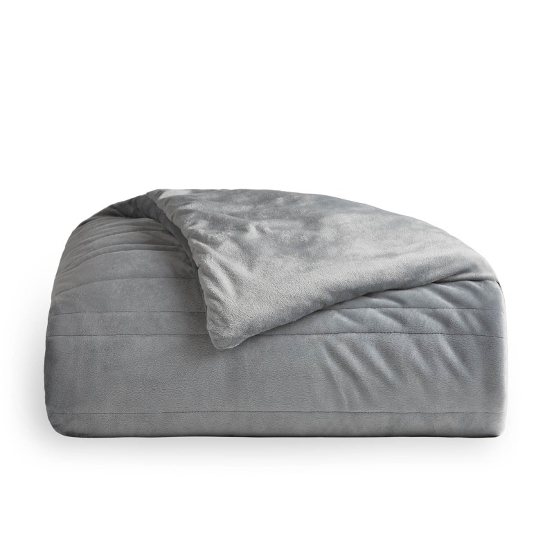 Malouf Weighted Blanket, 60 X 80, 20 Lbs, Driftwood