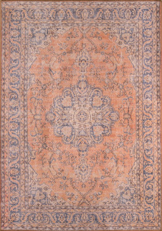 Afshar Machine Made Copper Area Rugs