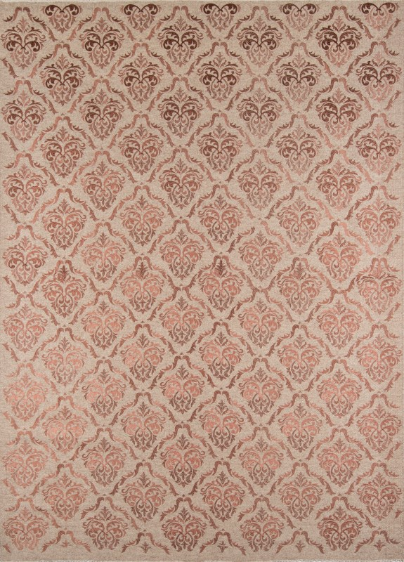Cielo Collection Indian Hand Made Rose Area Rugs