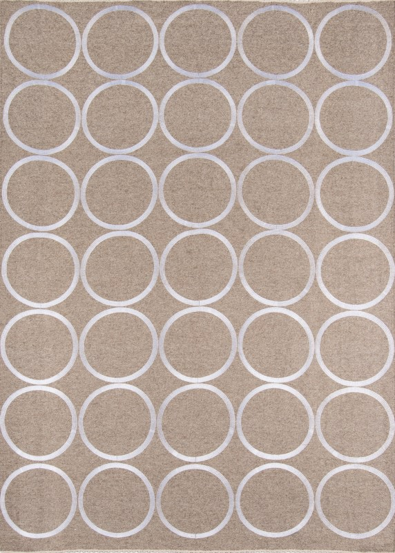 Cielo Collection Indian Hand Made Neutral Area Rugs