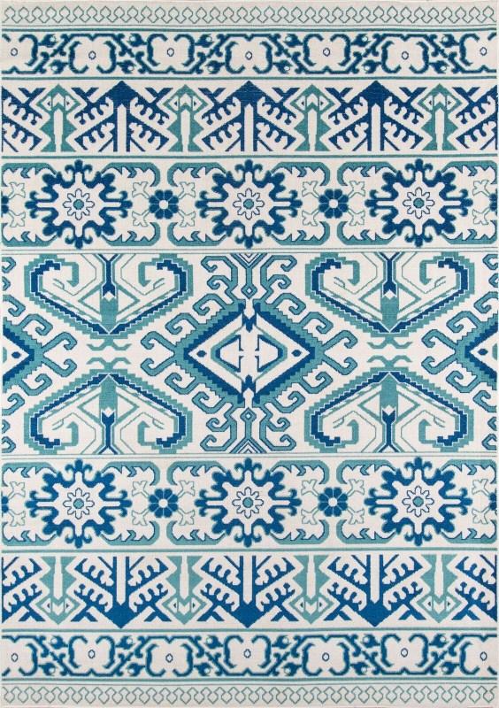 Dakota Collection Turkish Machine Made Blue Area Rugs