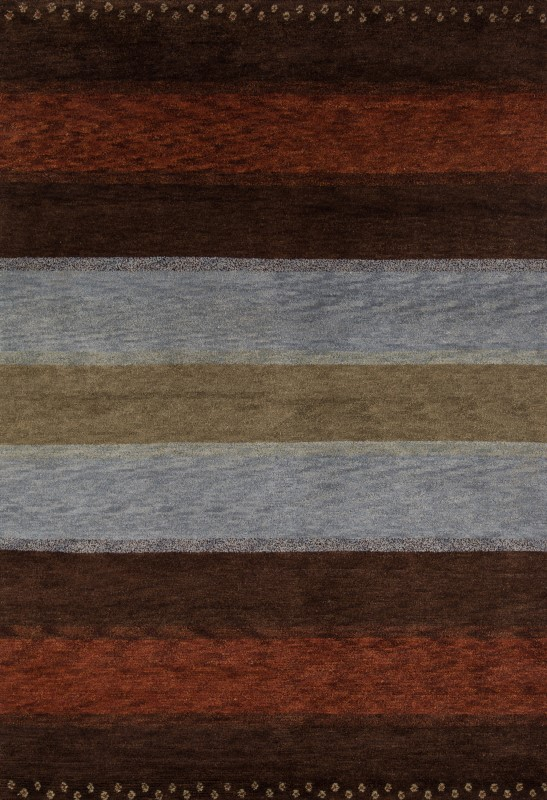 Desert Gabbeh Collection Indian Hand Knotted Multi Area Rugs
