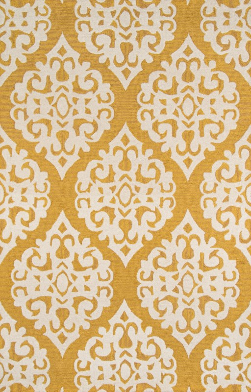 Dunes Collection Indian Hand Tufted Gold Area Rugs
