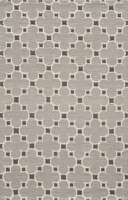 Dunes Collection Indian Hand Tufted Taupe Area Rugs