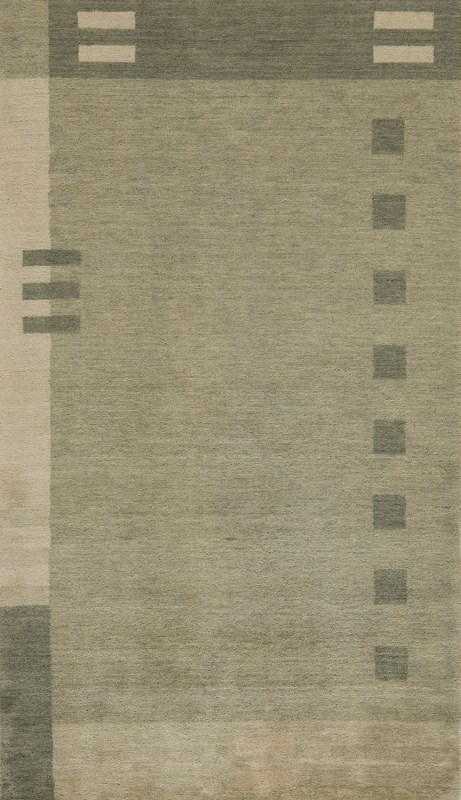 Gramercy Collection Indian Hand Loomed Green Area Rugs