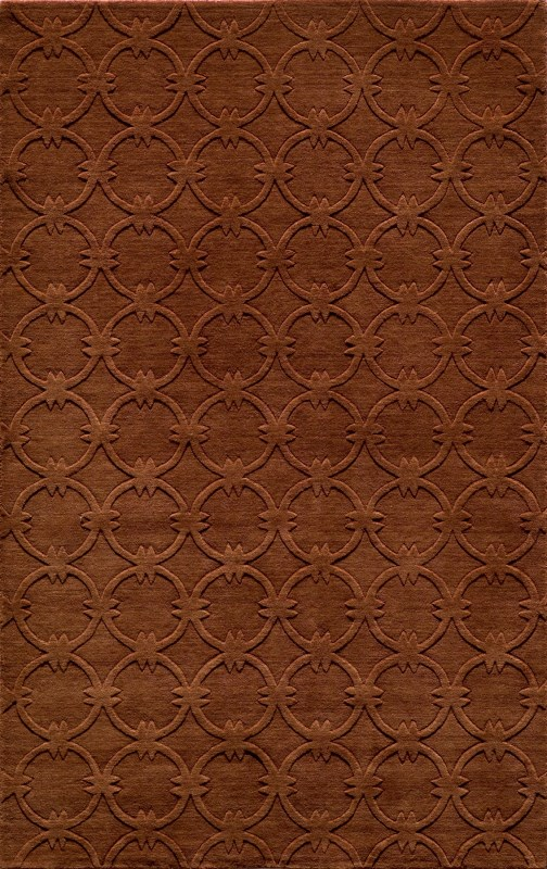 Gramercy Collection Indian Hand Loomed Copper Area Rugs