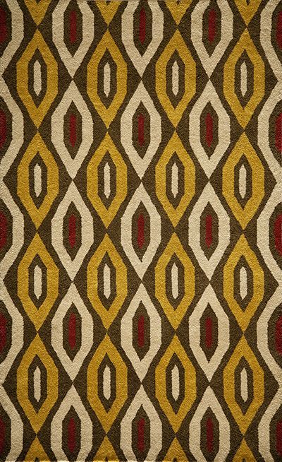Habitat Hand Tufted Gold Area Rugs