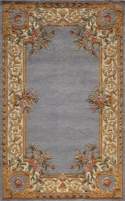 Harmony Hand Tufted Blue Area Rugs