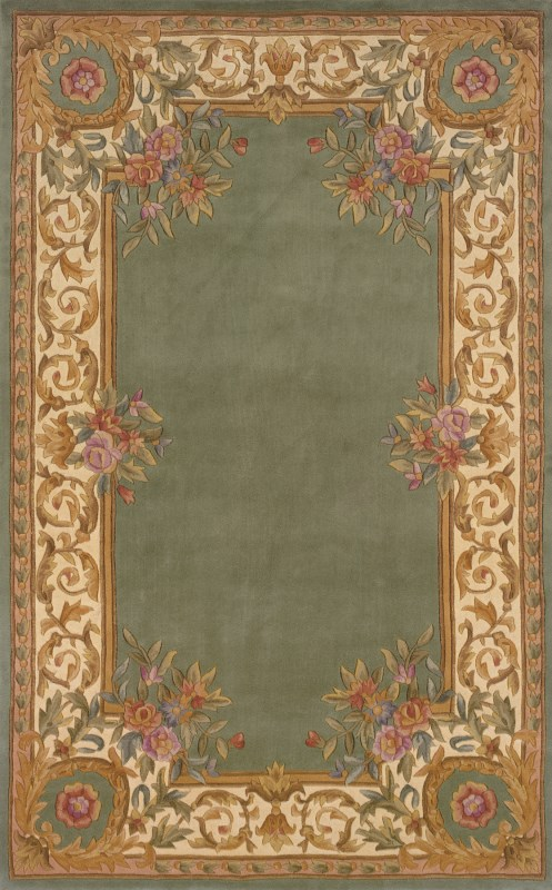 Harmony Hand Tufted Sage Area Rugs
