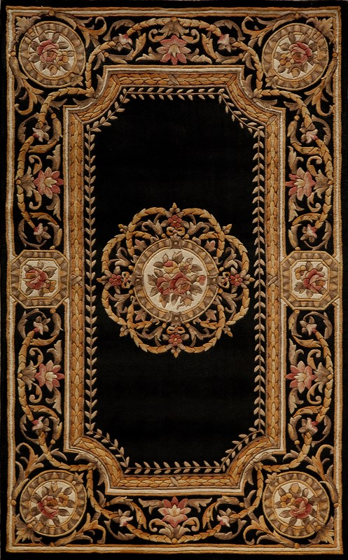 Harmony Hand Tufted Black Area Rugs