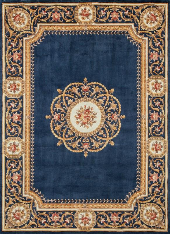 Harmony Hand Tufted Blue Area Rugs