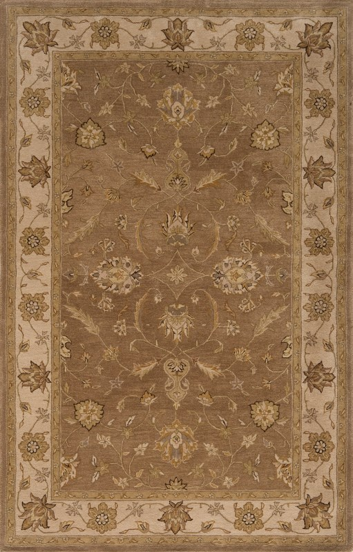 Imperial Court Hand Tufted Light Brown Area Rugs
