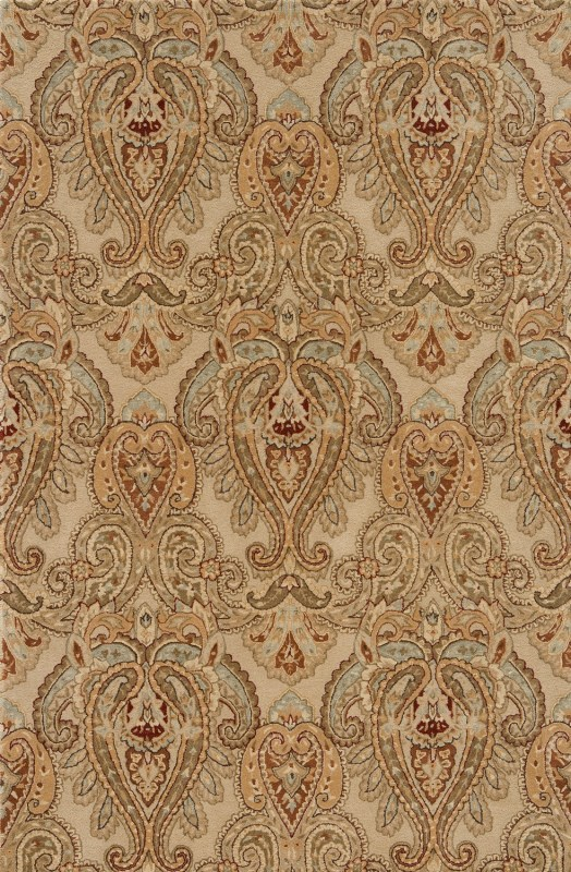 Imperial Court Hand Tufted Sand Area Rugs