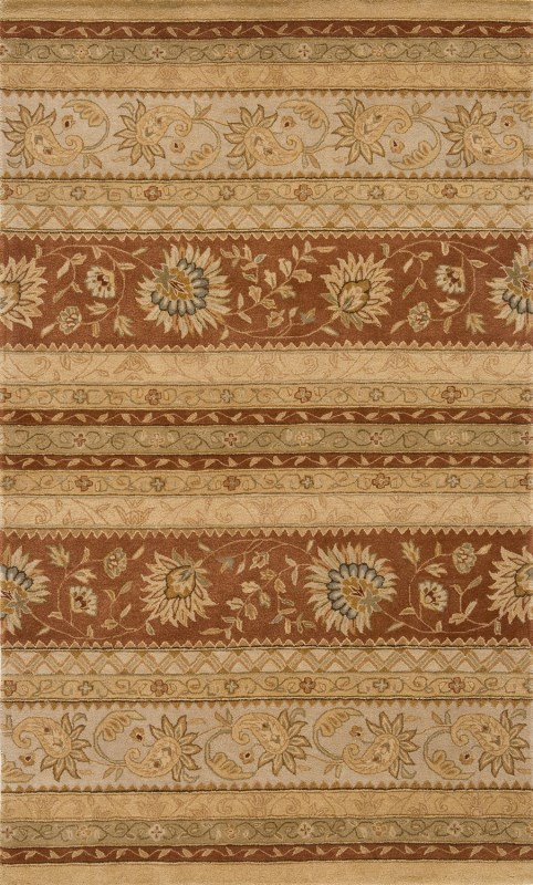 Imperial Court Hand Tufted Earth Area Rugs