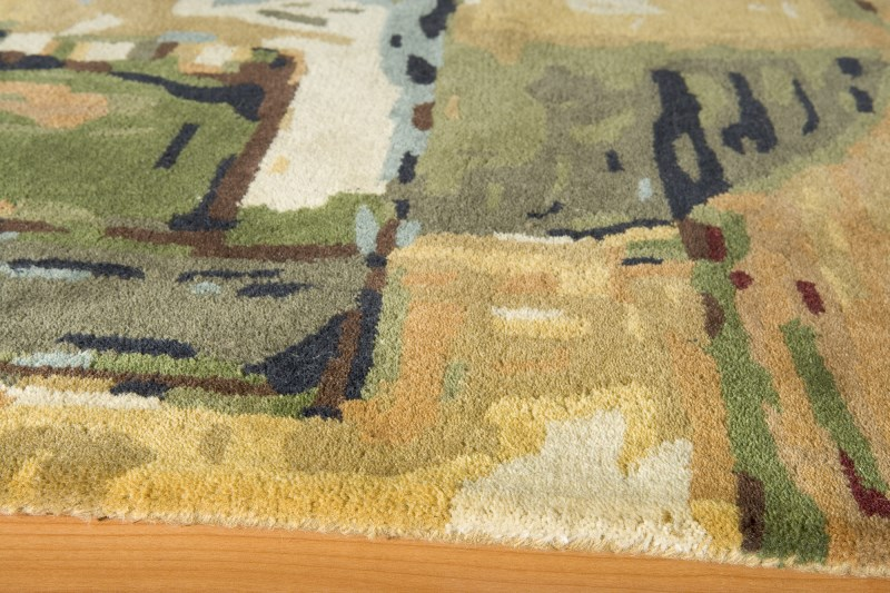Impressions Hand Tufted Earth Area Rugs