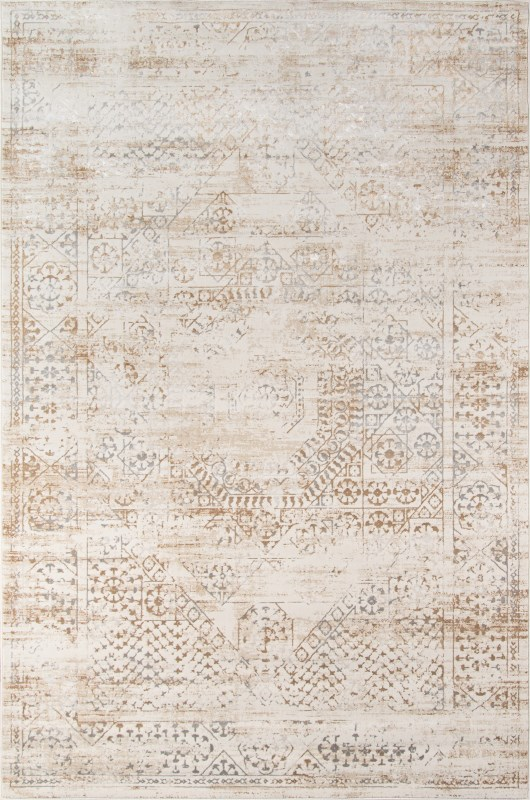 Juliet Collection Turkish Machine Made Beige Area Rugs