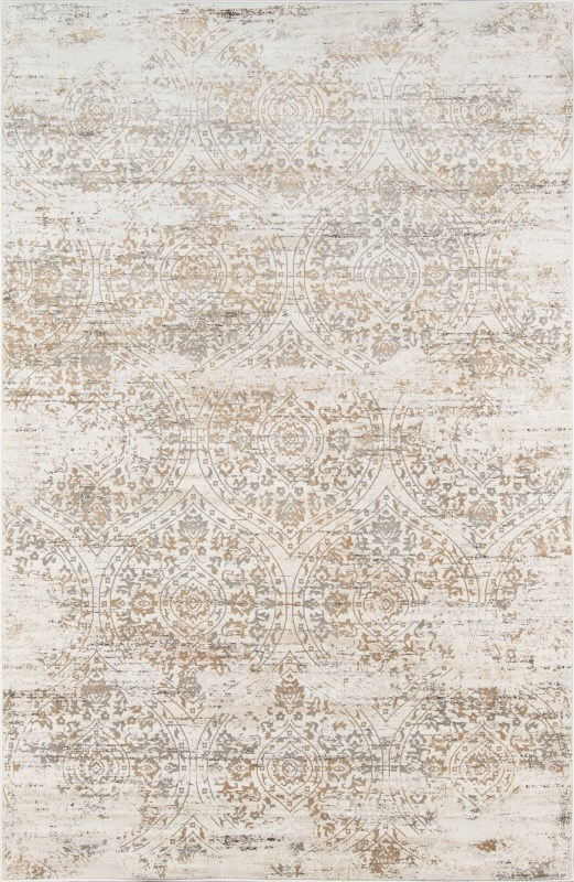 Juliet Collection Turkish Machine Made Ivory Area Rugs
