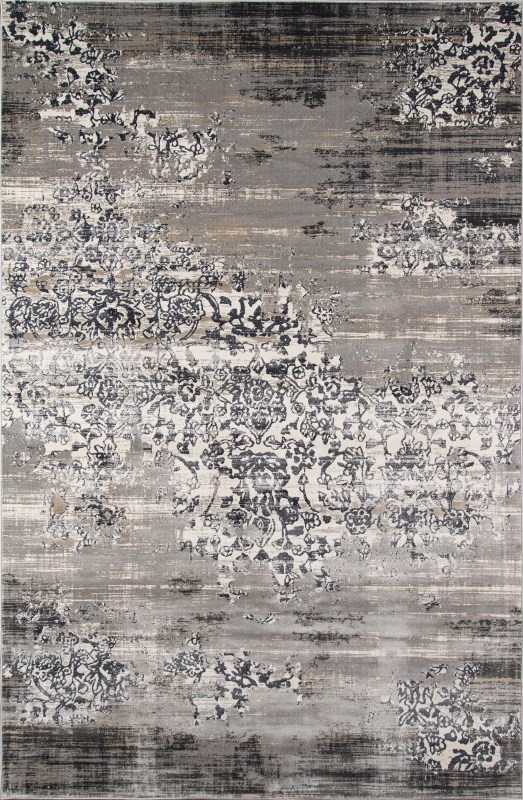 Juliet Collection Turkish Machine Made Grey Area Rugs