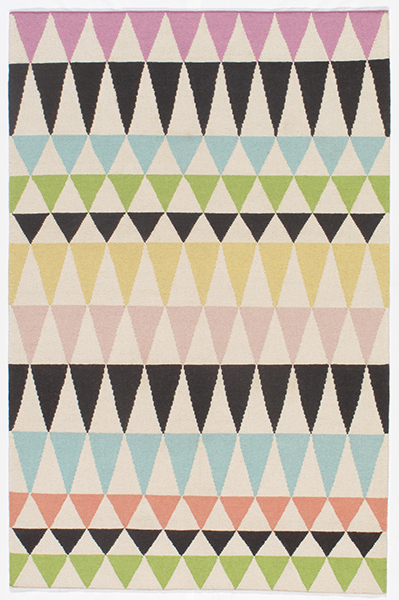 Laguna Collection Indian Hand Woven Multi Area Rugs