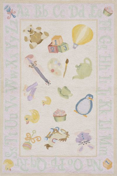 Lil Mo Classic Collection Chinese Hand Hook Soft Pink Area Rugs