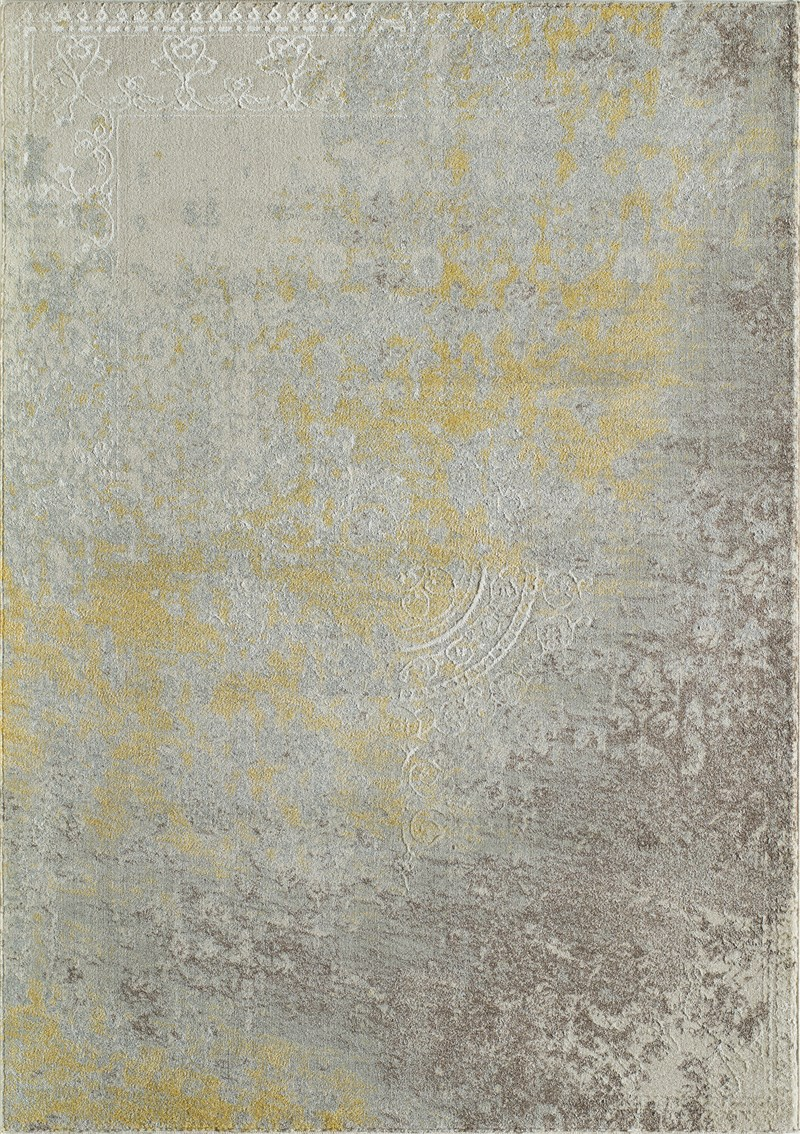 Luxe Collection Turkish Machine Made Gold Area Rugs