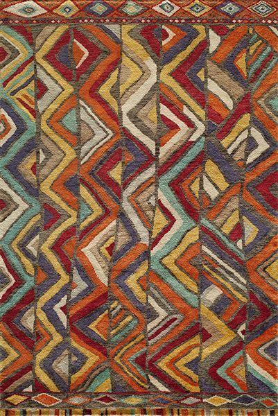 Madagascar Hand Knotted Multi Area Rugs