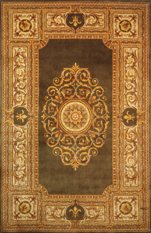 Maison Collection Chinese Hand Tufted Green Area Rugs