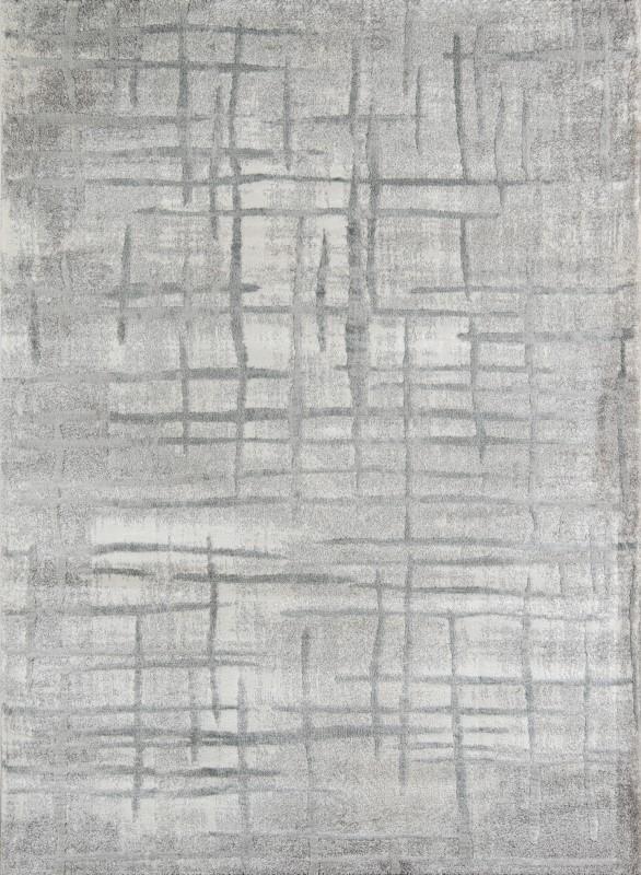 Matrix Machine Made Grey Area Rugs