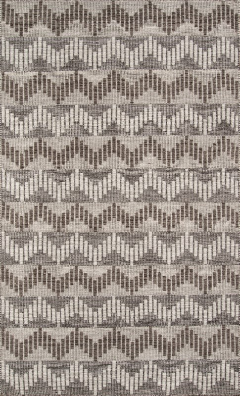 Mesa Collection Indian Hand Woven Grey Area Rugs