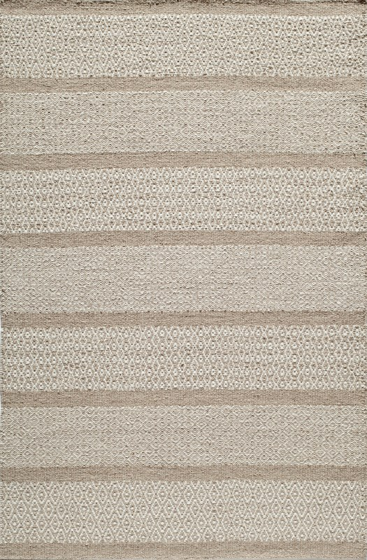 Mesa Collection Indian Hand Woven Beige Area Rugs