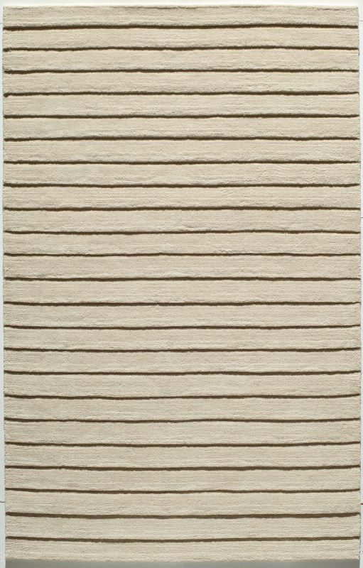 Metro Collection Indian Hand Tufted Ivory Area Rugs