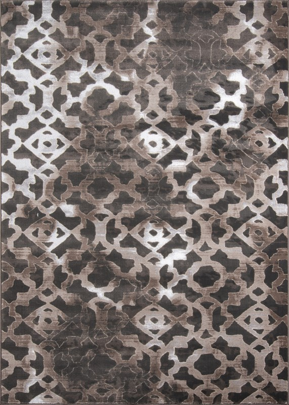 Monterey Collection Turkish Machine Made Brown Area Rugs