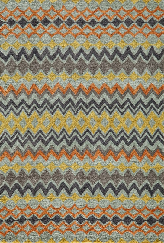 Rio Collection Chinese Hand Tufted Multi Area Rugs