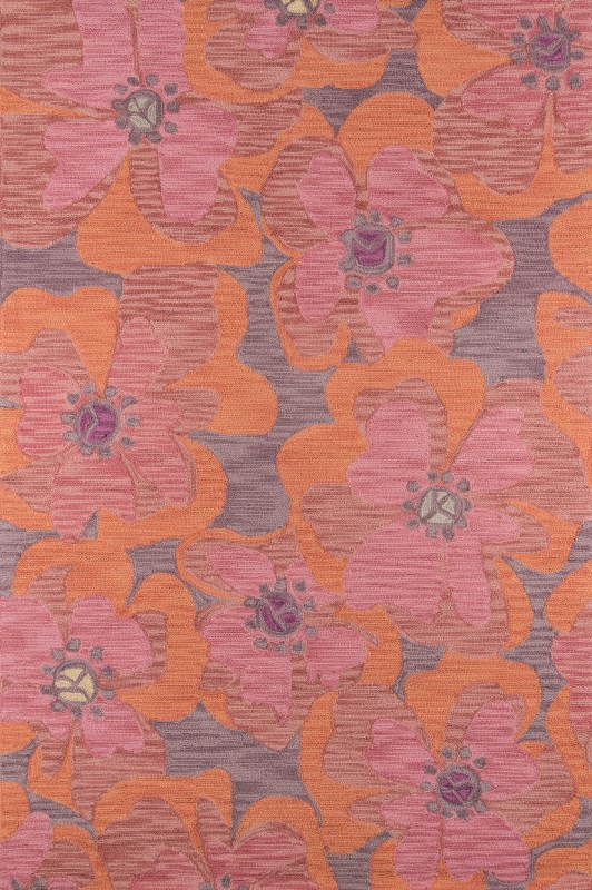 Summit Collection Chinese Hand Hook Raspberry Area Rugs