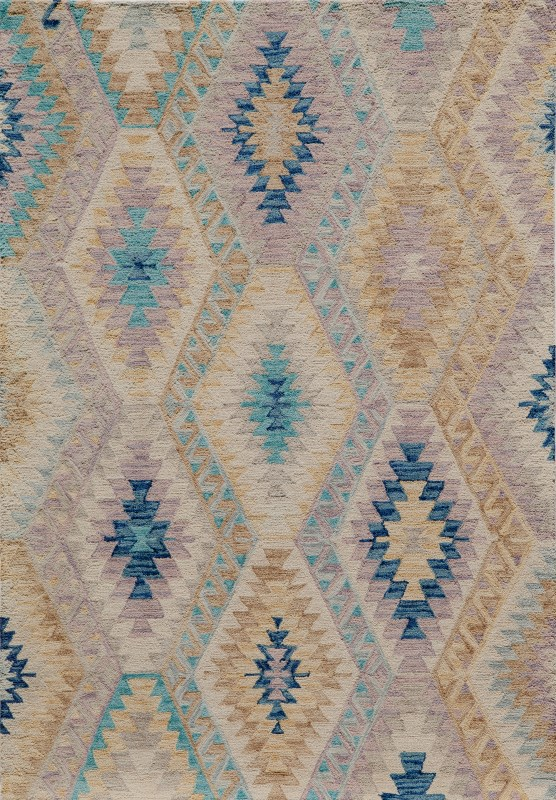 Tangier Collection Indian Hand Tufted Multi Area Rugs