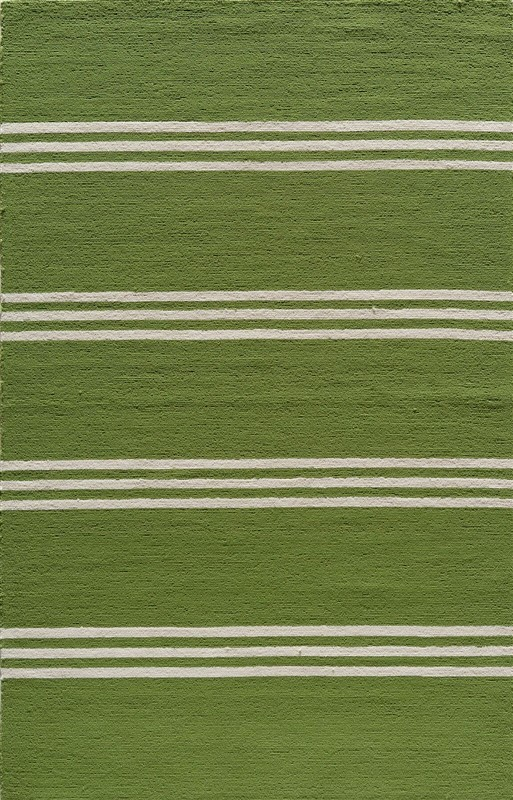 Veranda Collection Chinese Hand Hook Lime Area Rugs