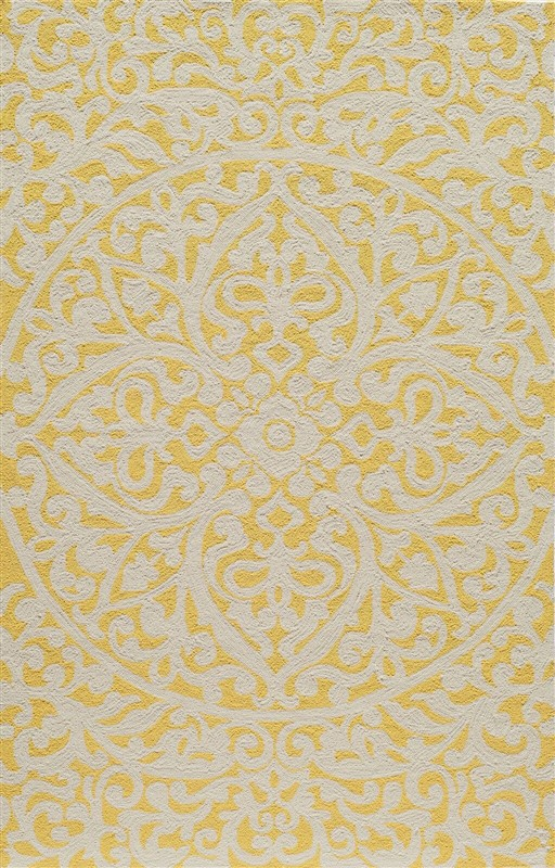 Veranda Collection Chinese Hand Hook Gold Area Rugs